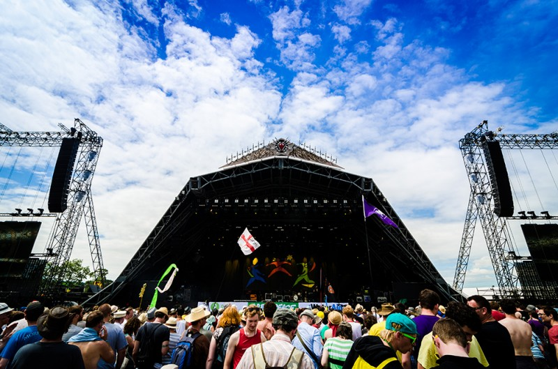 Pyramid stage views