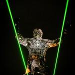 Giant laser dude
