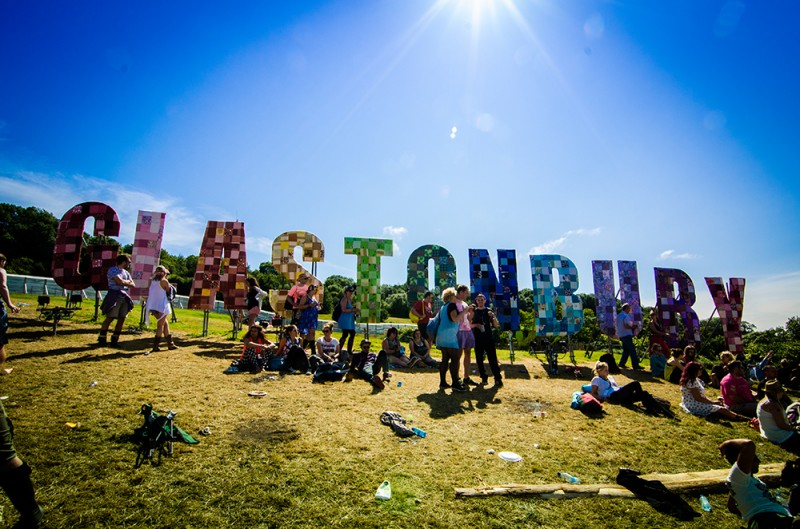 The Glastonbury sign up at the Park Stage